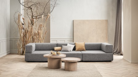 Sustainable Recover modular sofa from Bolia