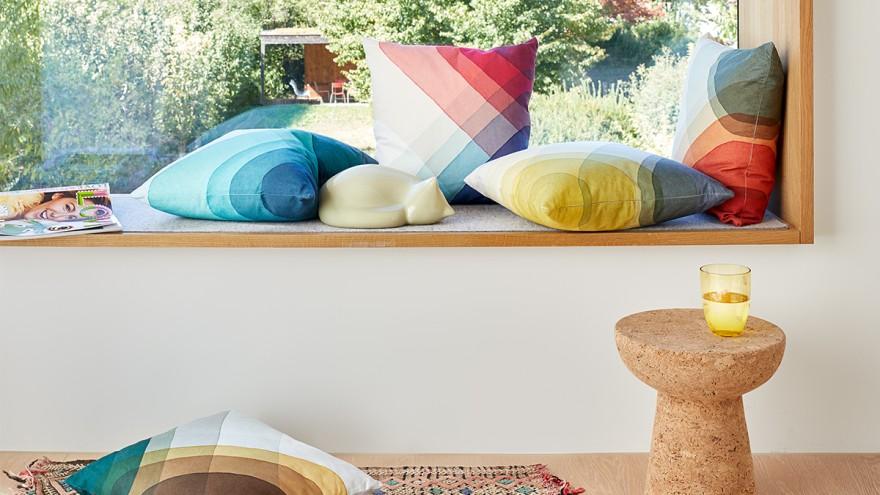 Sustainable cork stool from Vitra