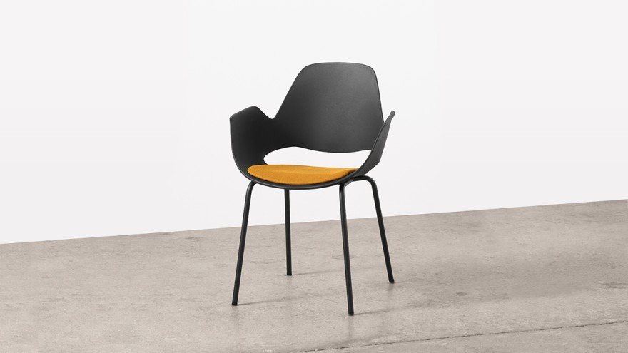 FALK chair by Hue made of recycled materialFALK chair by Hue made of recycled material -Material