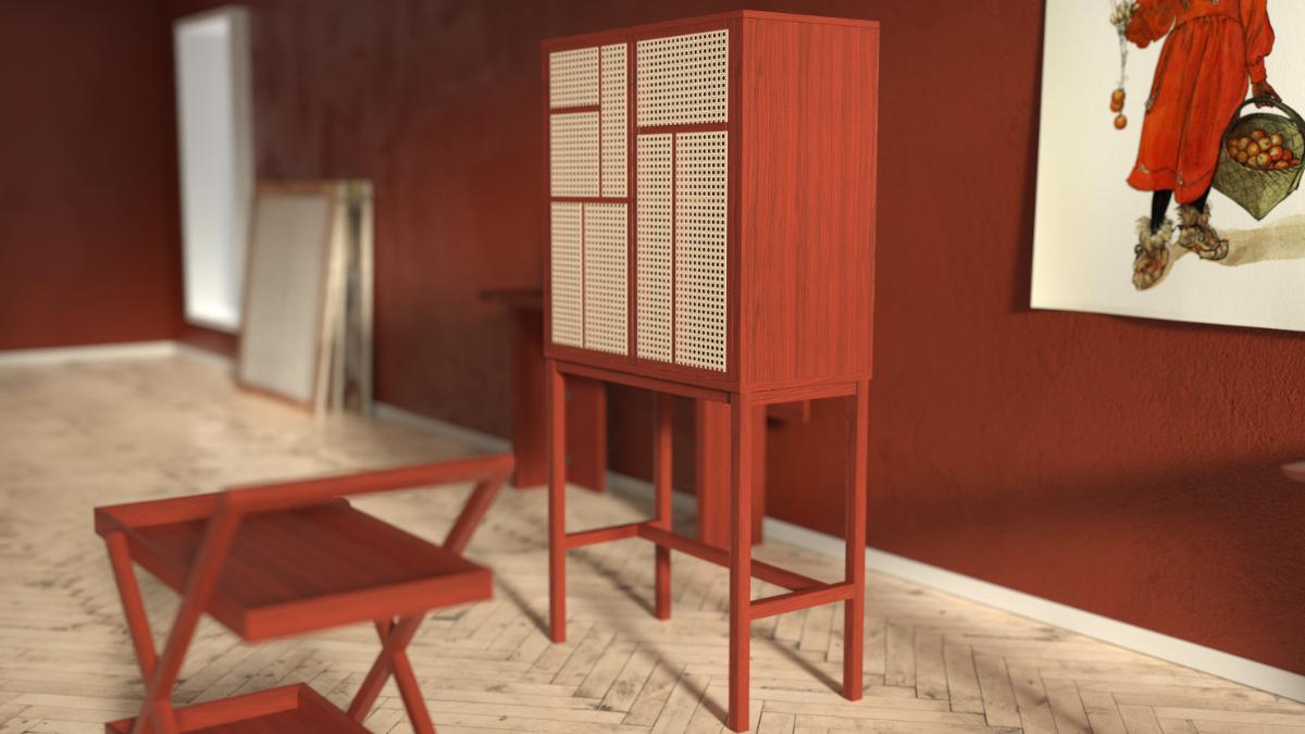 Design House Stockholm Air Cabinet Schwedisches Möbeldesign