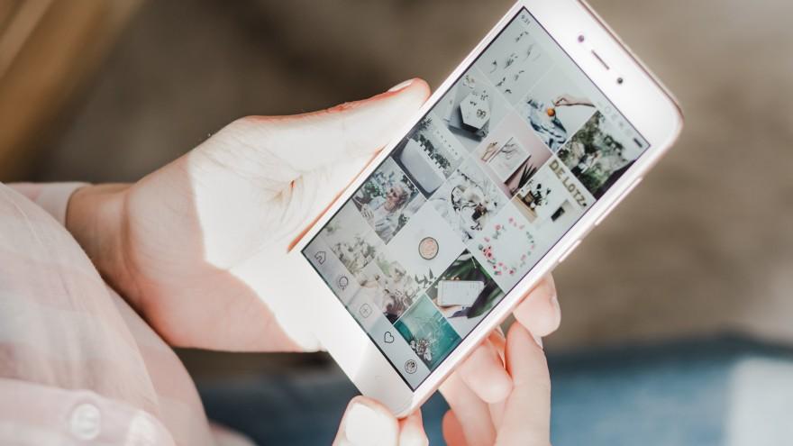 Instagram und Pinterest