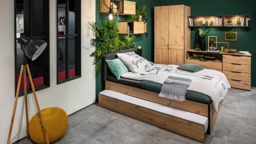 The NXTstebedroom furniture by Möbel Rudolf