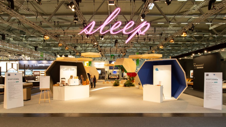 Der Bereich Sleep auf der imm