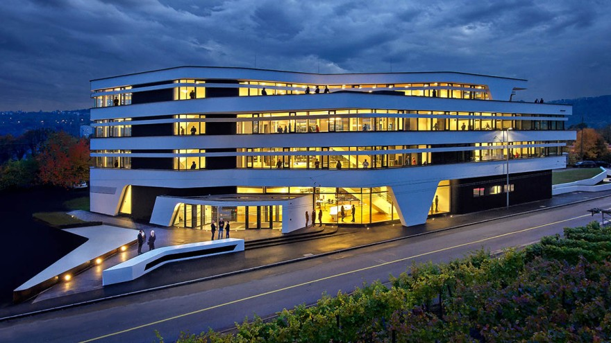 Südwestmetall building with smart lighting control