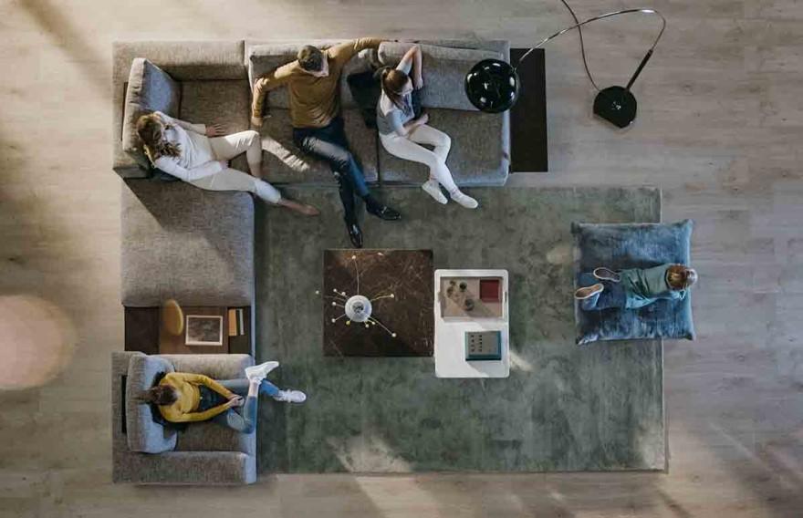 Living Landscape 755 sofa landscape by Walter Knoll