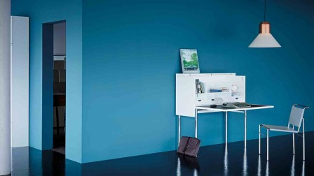 Classic by Grcic: Orcus secretary desk from ClassiCon