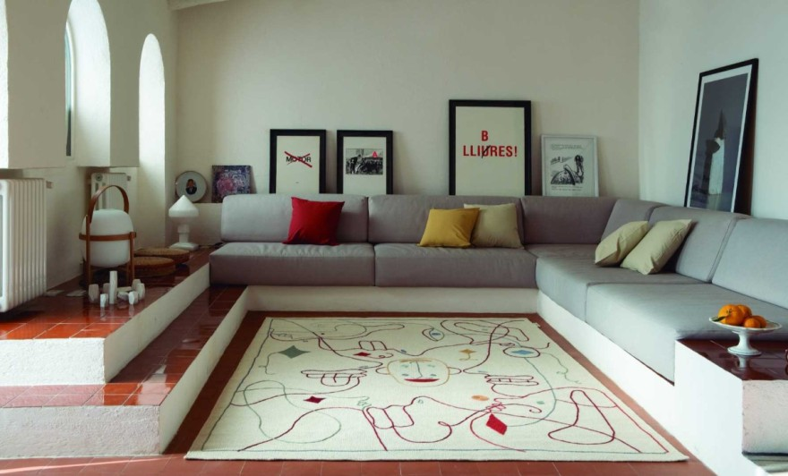 Carpets with a playful design