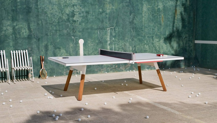 """Multifunctional table tennis table """"You and Me"""" from RS Barcelona"""