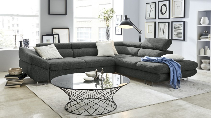 The vegan upholstered furniture in the Höffner