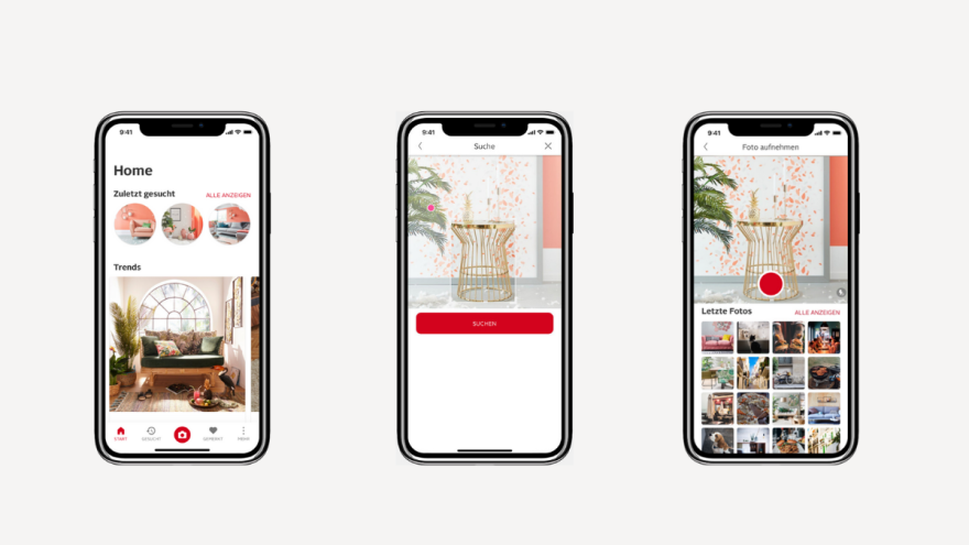 Search for furnishings simply by taking a photo. The alike app from OTTO makes it possible.