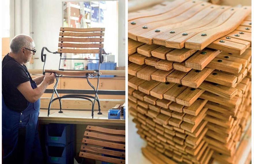 The carpentry workshop of Weishäupl