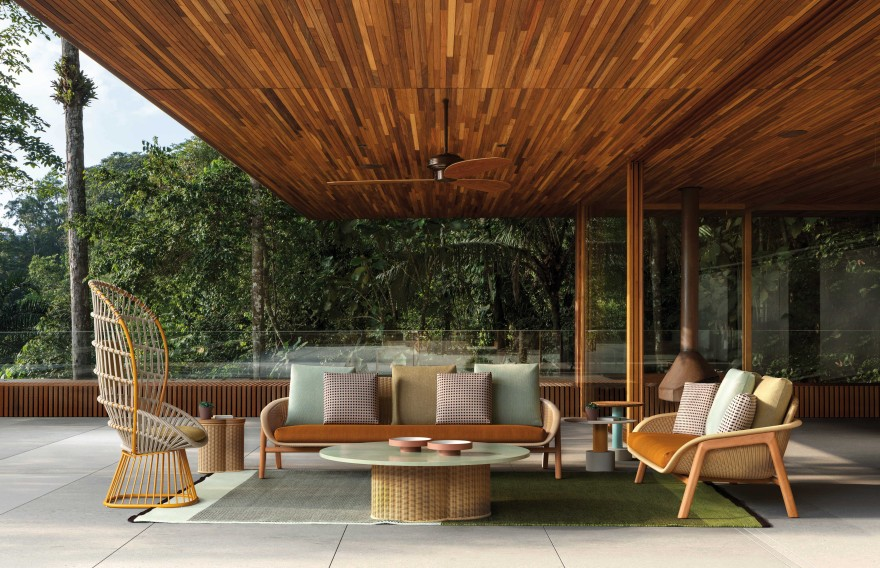 Outdoor Furniture Vimini by Kettal
