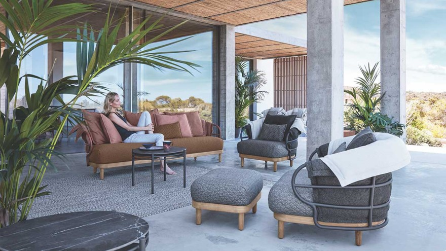 Outdoor Furniture Dune by Gloster