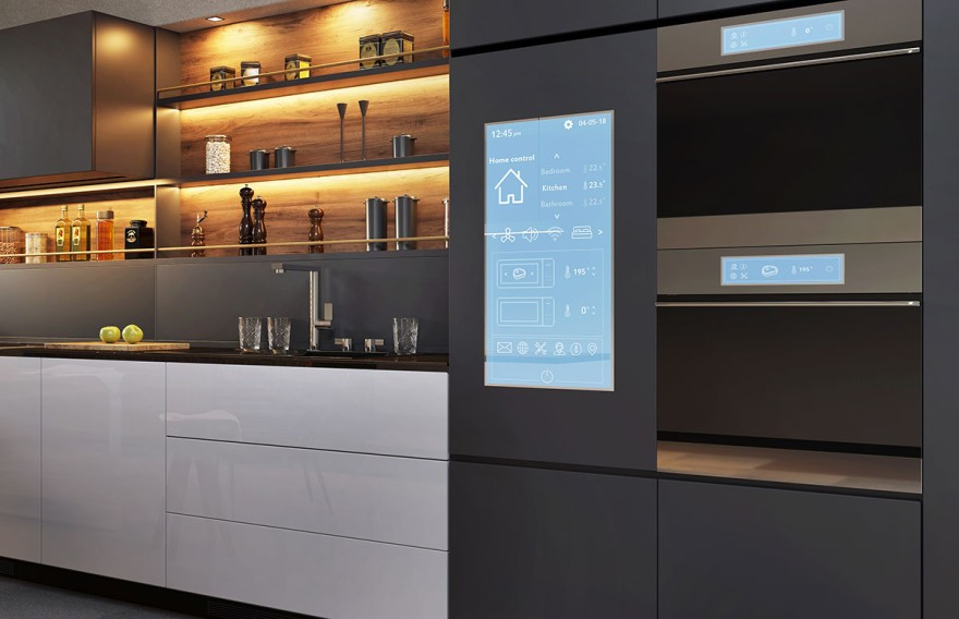 Smart applications in the kitchen
