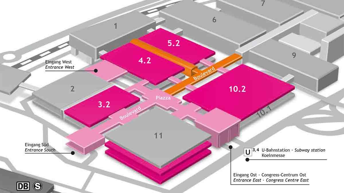 ISM Hall allocation