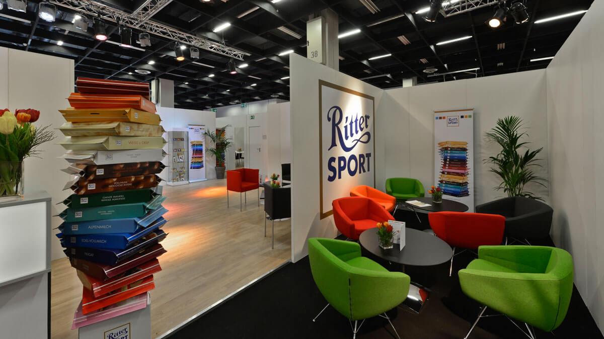 Ritter Sport zur ISM