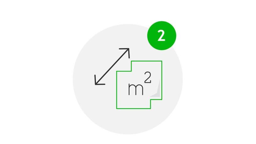 Meet Safe Icon Vergrößerung der Fläche