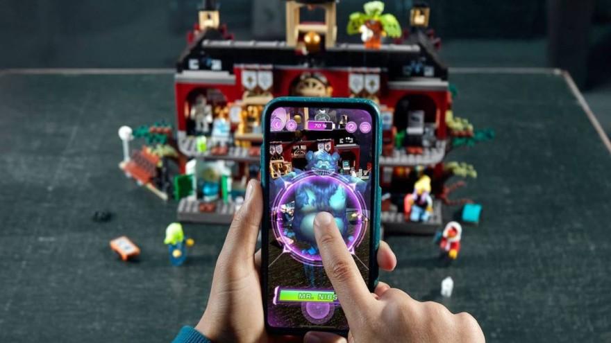 Lego Hidden Side App phygital games