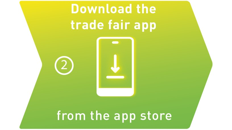Download the trade fair app